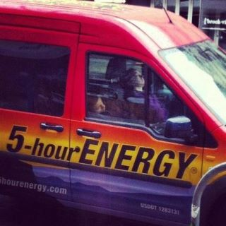 5-hour energy, 6-hours later