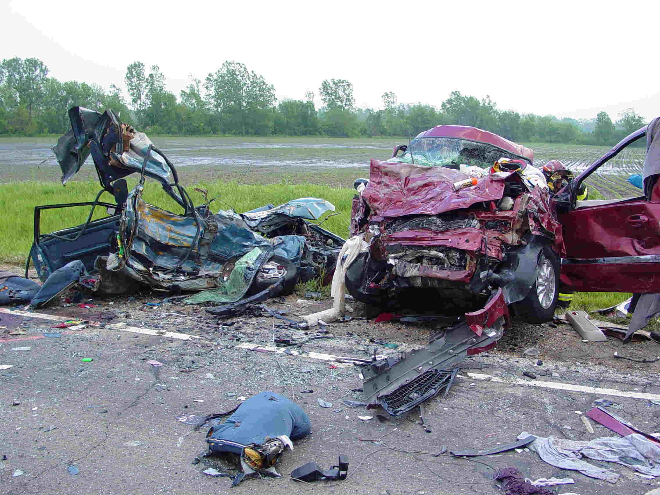 Coefficient Of A Car Crash
